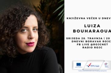 književna večer u dnevnom Luiza Bouharaoua