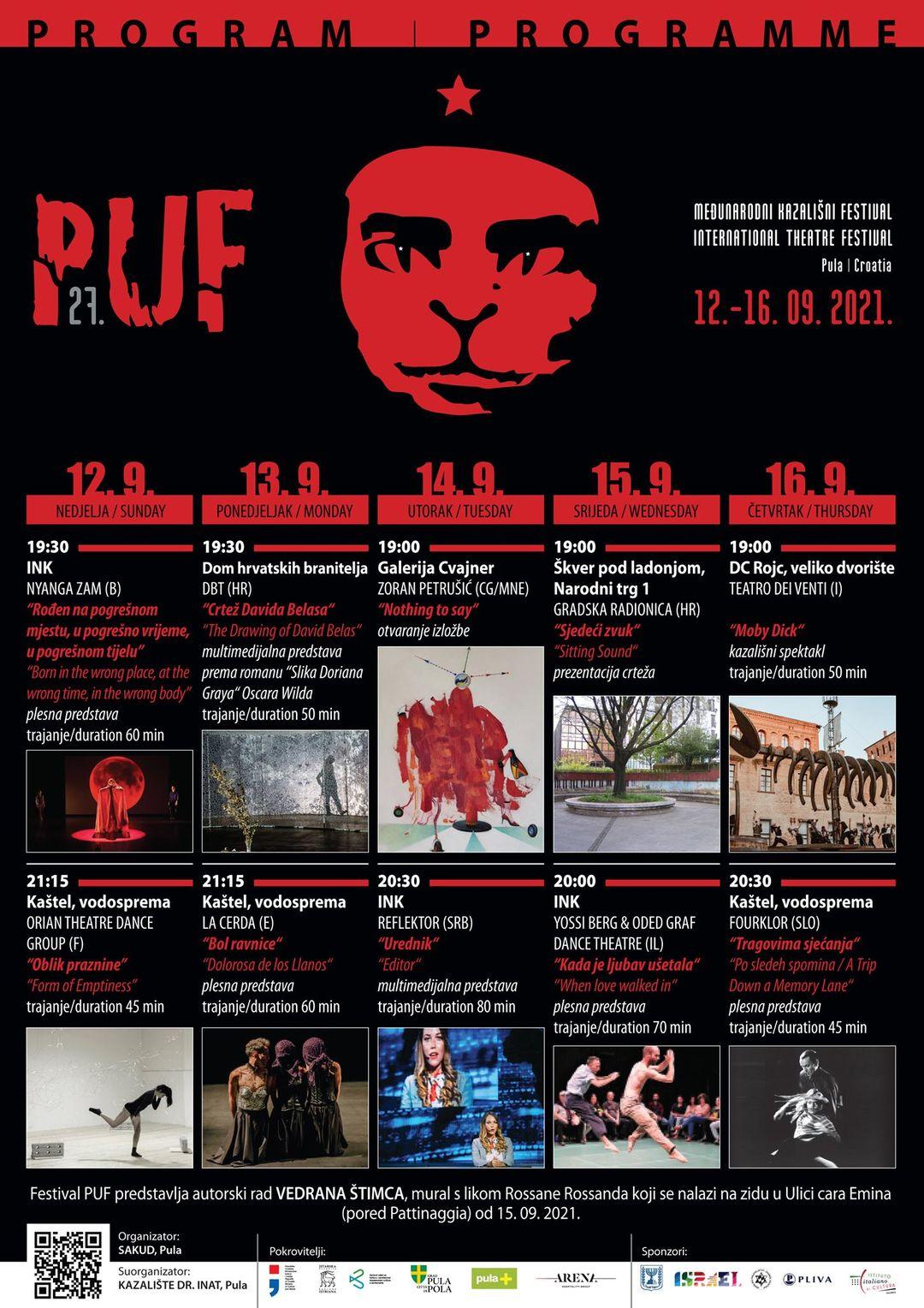 27.PUF – međunarodni kazališni festival