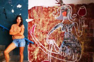 polina mural